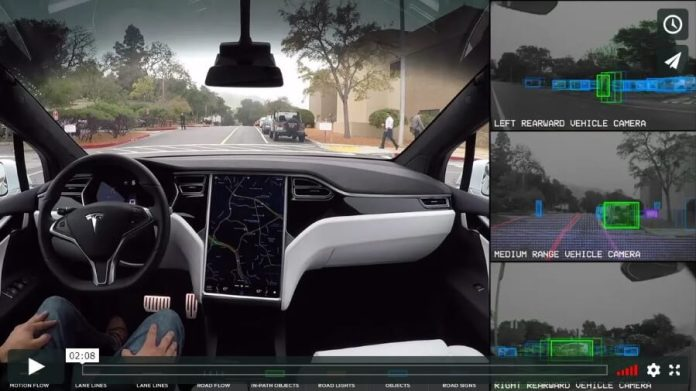 Tesla makes extensive use of computer vision and deep learning on its Autopilot features.