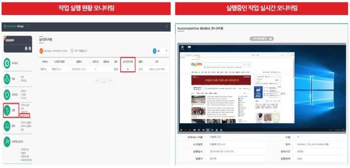 Korean RPA company's GridOne AutomateOne
