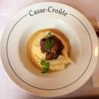 Joue De Cochon, Sauce Moutarde