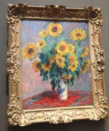 Bouquet de Girasoles de Claude Monet, 1918