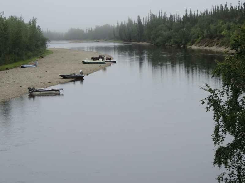נהר לצד הדרך בכביש טילור