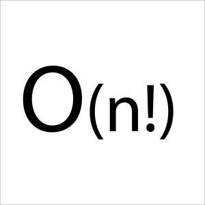 O(n!) Architecture Logo - Suleiman Alhadidi square- B&W