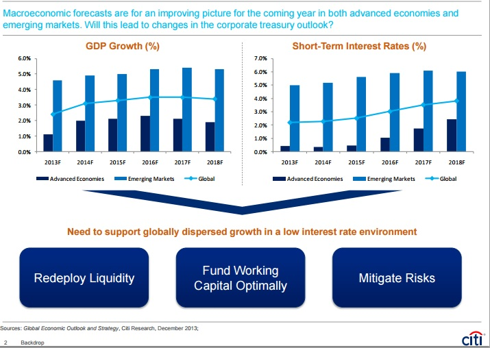 Citigroup January 2014 Economic Backdrop