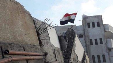 مبنى الجالية المصرية في غزة