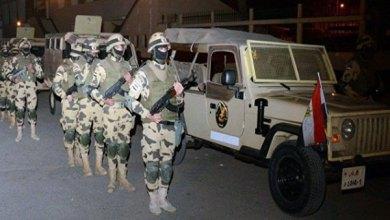 انتشار الجيش المصري