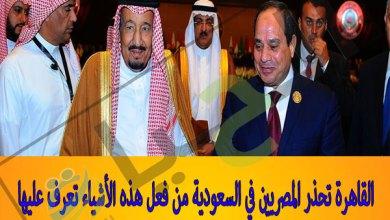 المصريين في السعودية