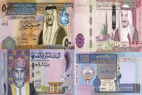 سعر-الدينار-والدرهم-والريال-في-دول-الخليج-والأردن