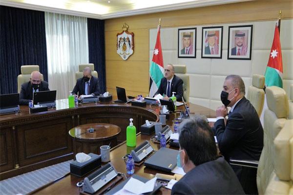 مجلس الوزراء الأردني الحكومة الأردنية