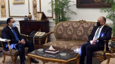 مدبولي مع سفير الاردن بمصر