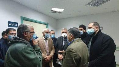 Photo of حميدة وكيل وزارة الصحة يتفقد مستشفى كفر الزيات العام .