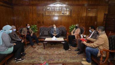 """Photo of بالصور: رئيس جامعة طنطا يستقبل منسقى المبادرة الرئاسية """"حياة كريمة"""""""