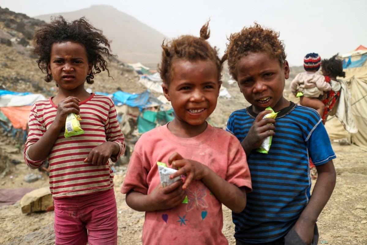 Manisan untuk anak-anak pelarian