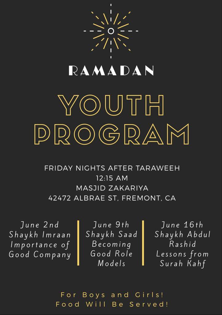 Ramadan Youth Program