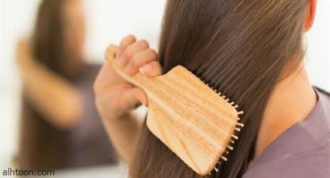 أخطاء تمشيط الشعر