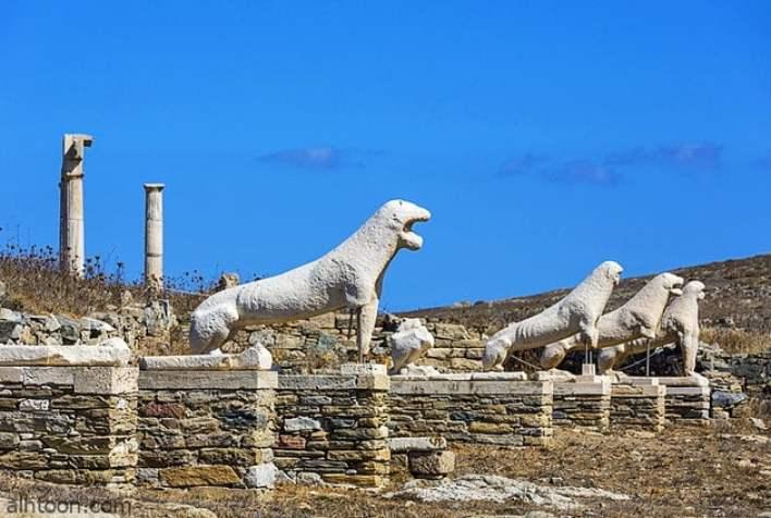 جزيرة ديلوس وأهم معالمها السياحية -صحيفة هتون الدولية