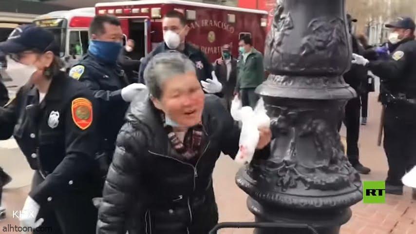 شاهد: عجوز صينية تقاوم معتديها - صحيفة هتون الدولية