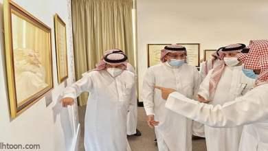 مكتبة الملك عبدالعزيز تدشن معرضها للخط العربي -صحيفة هتون الدولية-