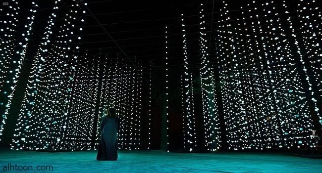 """احتفالية """"نور الرياض""""تنطلق غداً بمشاركة 60 فناناّ من 20 دولة -صحيفة هتون الدولية"""