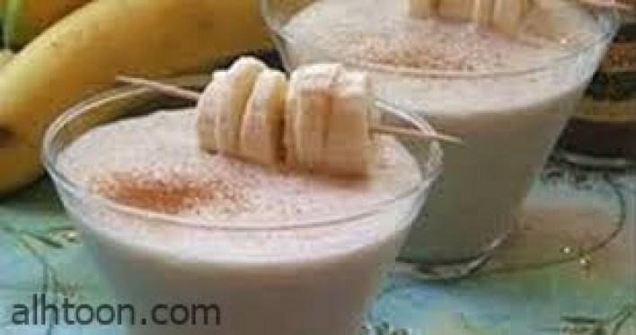 الموز وفوائده مع الحليب -صحيفة هتون الدولية
