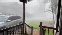شاهد: عاصفة ثلجية قوية تضرب أمريكا - صحيفة هتون الدولية