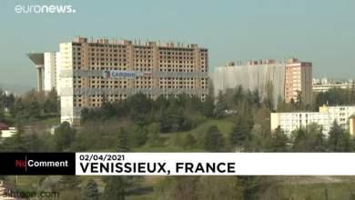 شاهد: لحظة تفجير مبنى سكني في فرنسا - صحيفة هتون الدولية