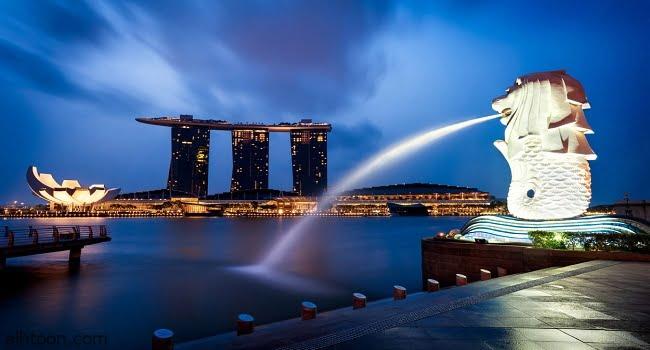 سنغافورة تستقبل 120 ألف سائح