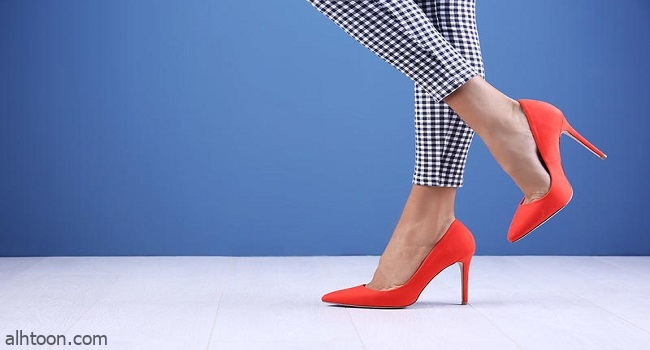 أحذية ملونة موضة 2021