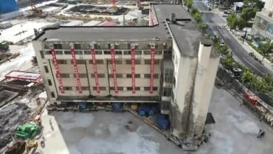 شاهد: هروب المئات من مبنى بدأ بالاهتزاز - صحيفة هتون الدولية