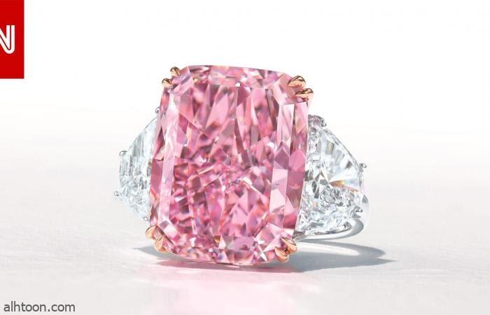 بيع خاتم ألماس بـ29 مليون دولار - فيديو - صحيفة هتون الدولية