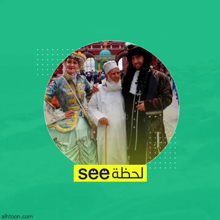 شاهد: مسن عماني تلهف عليه الروس للتصوير معه - صحيفة هتون الدولية