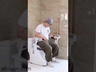 شاهد: ابتكار في دورات الحمام لكبار السن - صحيفة هتون الدولية