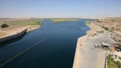 شاهد: انخفاض منسوب مياه نهر الفرات - صحيفة هتون الدولية