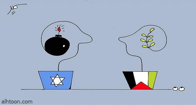 تشكيليون يدعمون القضية الفلسطينية