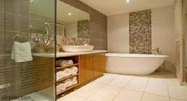 ديكورات حمامات مودرن -صحيفة هتون الدولية