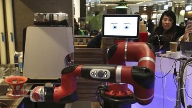 شاهد:روبوتات تقدم القهوة للزبائن بمقهى - صحيفة هتون الدولية