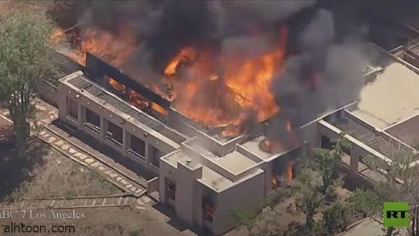 فيديو: اشتعال مركز إطفاء بأمريكا - صحيفة هتون الدولية