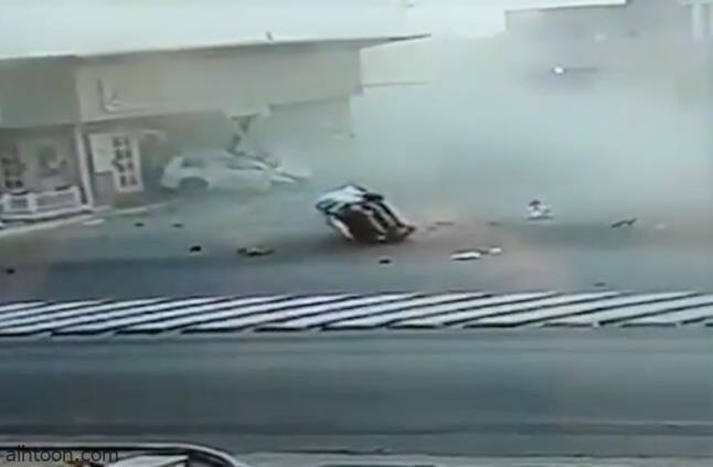 شاهد: حادث مروع في الدوادمي - صحيفة هتون الدولية