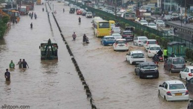 شاهد: غرف مومباي بالفيضانات - صحيفة هتون الدولية