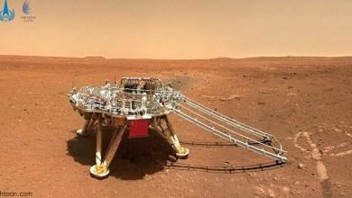 شاهد: العلم الصيني على المريخ - صحيفة هتون الدولية