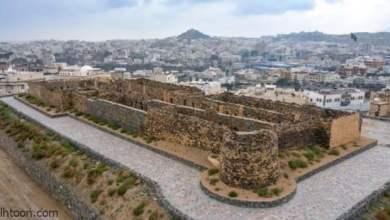 قلعة شمسان التاريخية بالسعودية