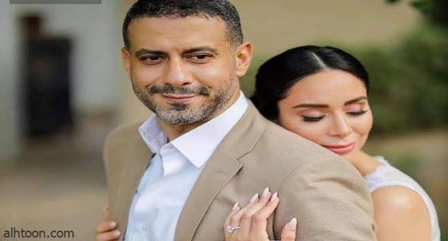 عقد قران محمد فراج وبسنت شوقي