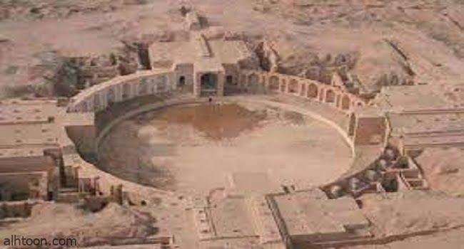 قصر البركة الاثري في سامراء -صحيفة هتون الدولية