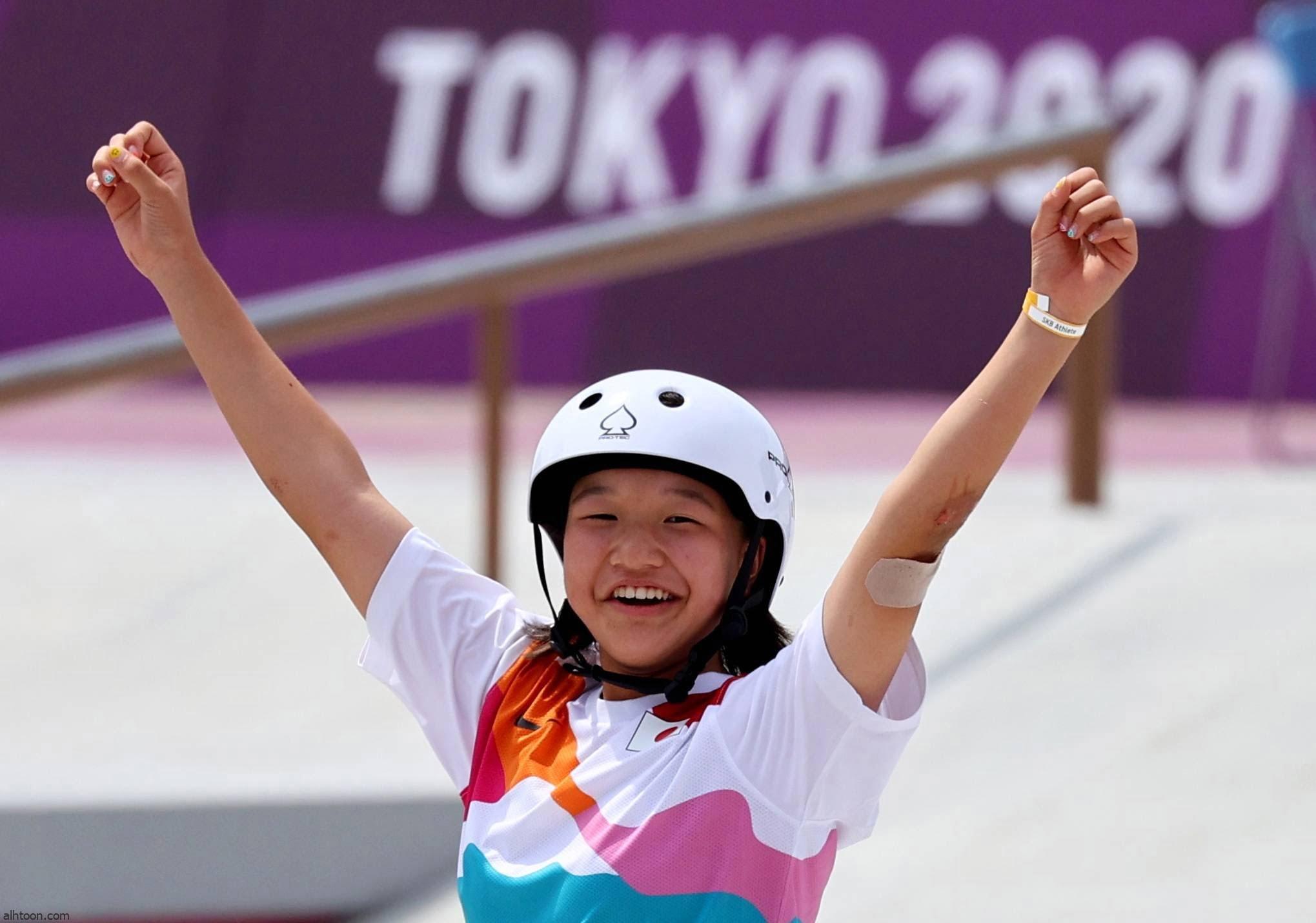 """""""نيشا"""" أول أوليمبية حاصلة على ذهبية """"التزلج على الألواح"""""""
