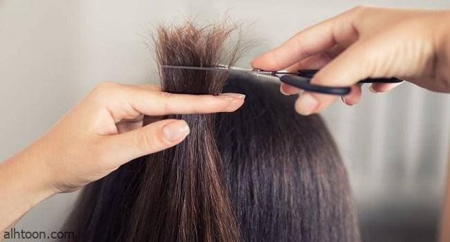 كيفية قص الشعر في المنزل