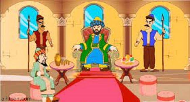 قصة ( جحا والملك )