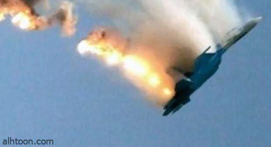 شاهد: سقوط طائرة عسكرية روسية - صحيفة هتون الدولية