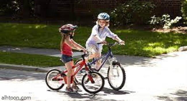 ركوب الأطفال الدراجات يطور قوتهم العضلية -صحيفة هتون الدولية