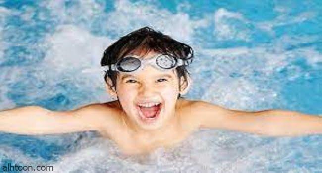 السباحة رياضة ممتعة للأطفال -صحيفة هتون الدولية