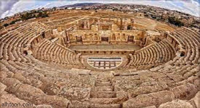 «جرش» مدينة الألف عمود -صحيفة هتون الدولية -
