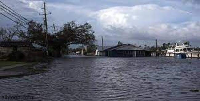 """بقايا إعصار """"إيدا"""" تضرب ولايات أميركية -صحيفة هتون الدولية"""